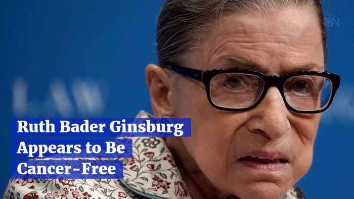 RBG Is Cancer Free