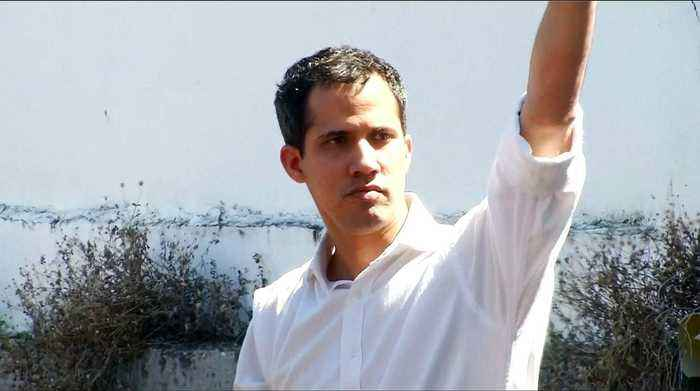 Venezuela opposition leader Juan Guaido briefly detained