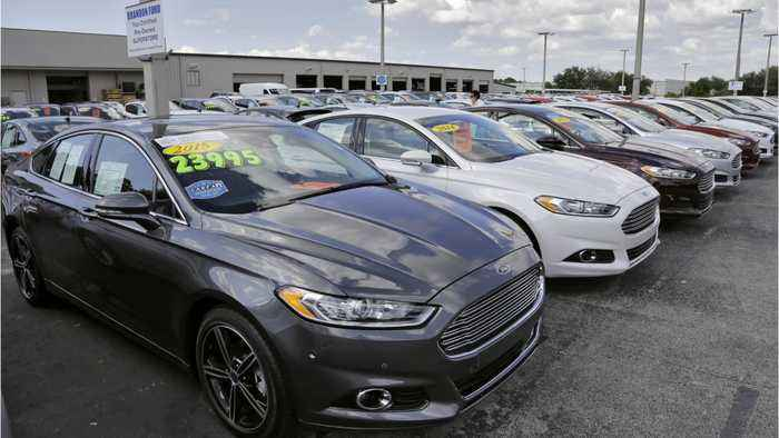 Automakers Have Almost 4 Million Cars To Sell