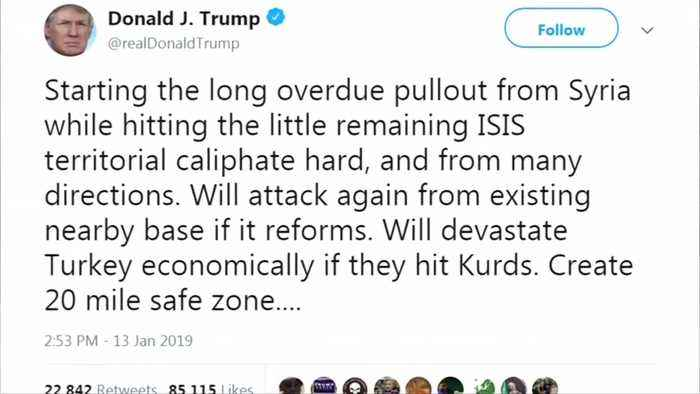 Trump threatens Turkey with economic devastation if it attacks Syrian Kurd militia