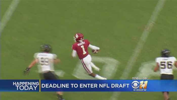 Oklahoma Sooner Kyler Murray Could Declare For NFL Draft Today
