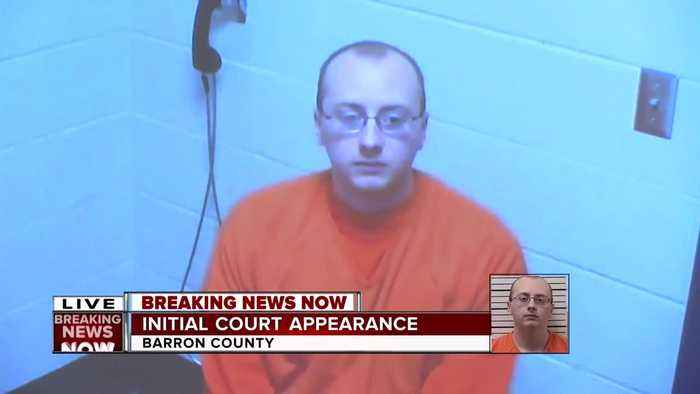 Jayme Closs' kidnapper sits idly by in his initial court appearance