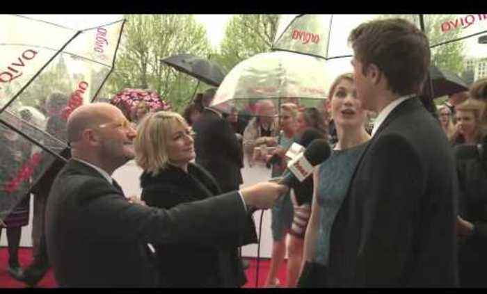 BAFTA TV Awards 2103: Broadchurch's Jodie Whittaker and Andrew Buchan talk whodunnits