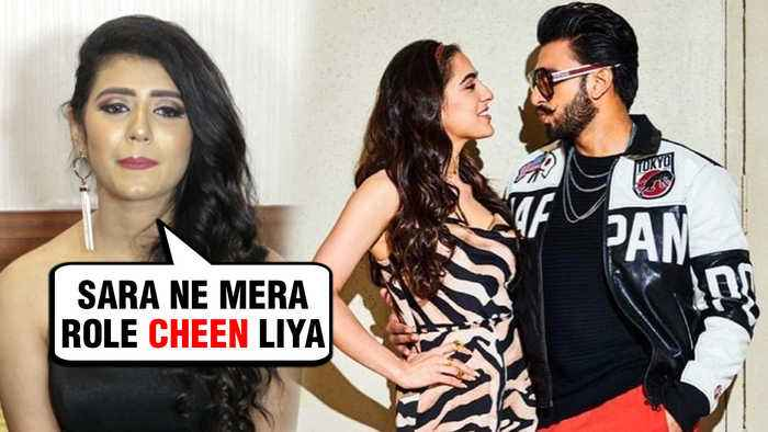 Priya Varrier NOT HAPPY With Sara Ali Khan Opposite Ranveer Singh In Simmba