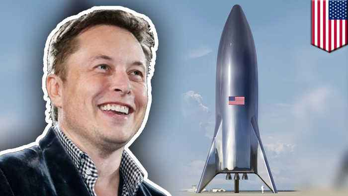 Elon Musk shares new images of prototype 'Starship'