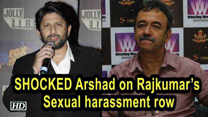 "SHOCKED Arshad on Rajkumar's Sexual harassment row, ""How is this possible?"""