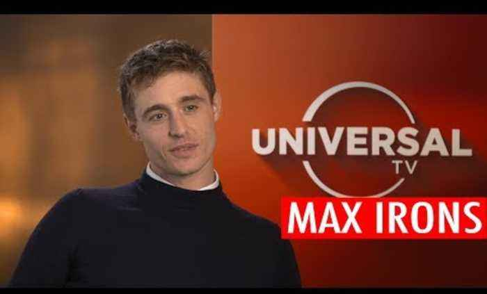 Max Irons reveals how he gets out of awkward conversations