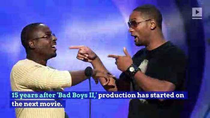 Will Smith and Martin Lawrence Reunite on 'Bad Boys 3' Set