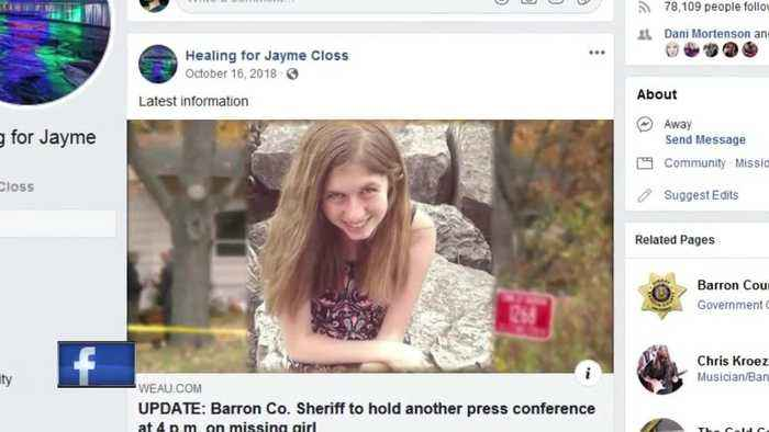 Online support for Jayme Closs