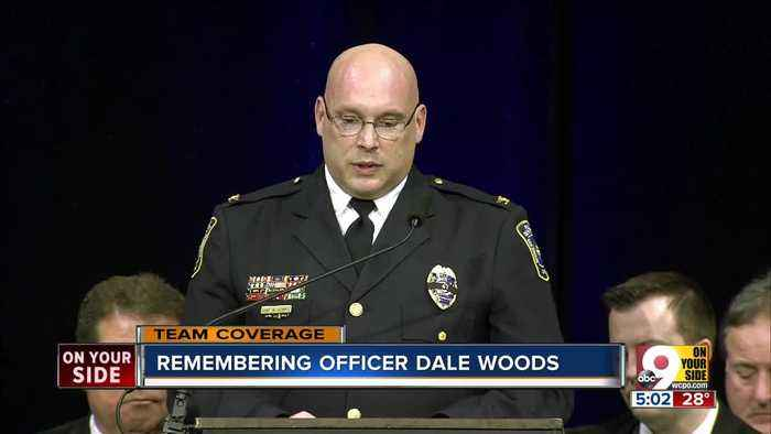 Friends, fellow officers lay Dale Woods to rest