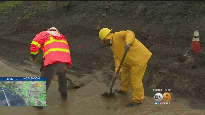Mandatory Evacuations Issued In Malibu As Mudslide Concerns Climb