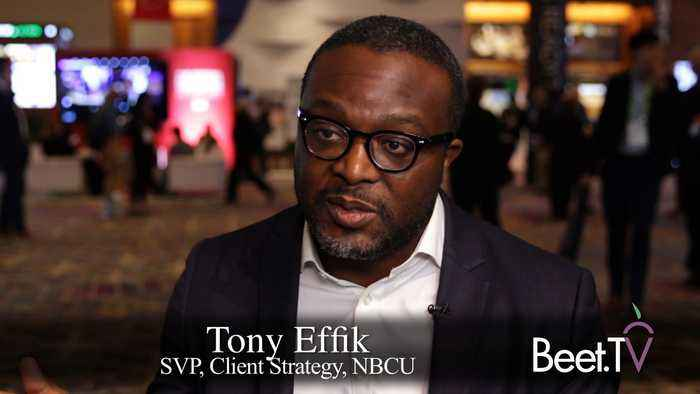 NBCU's Effik: Data-Driven Targeting Is 'Married' To An Enduring Upfront