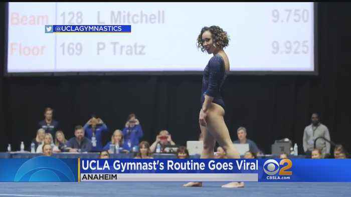 UCLA Gymnast Stuns Judges With Perfect 10 Floor Routine