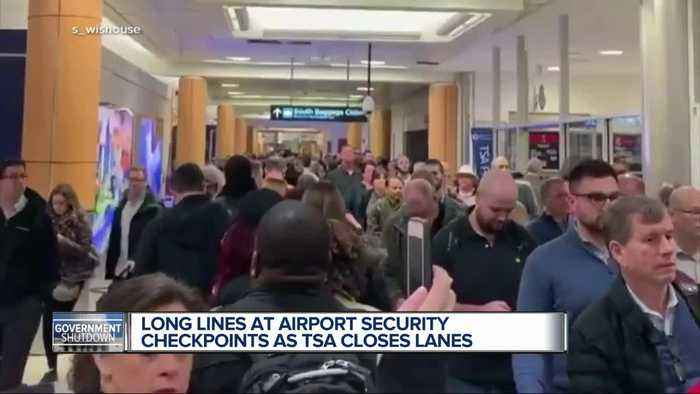Partial government shutdown causing TSA problems