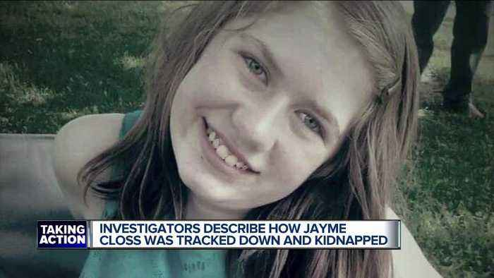 Investigators describe how Jayme Closs was tracked down, kidnapped