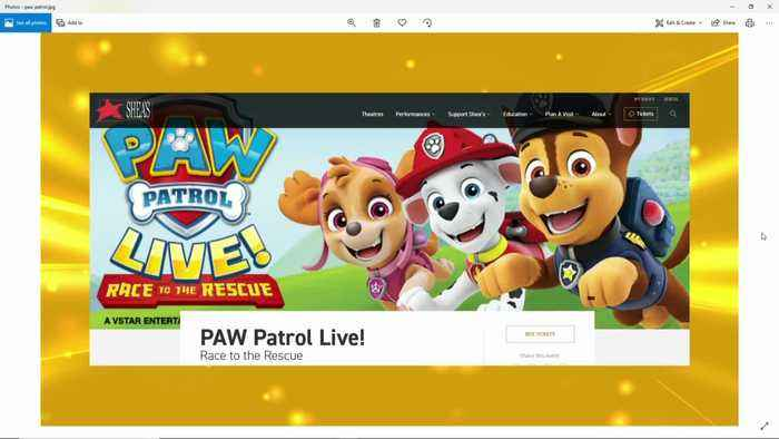 Win Ticket Vouchers to See Paw Patrol Live Race to the Rescue at Shea's