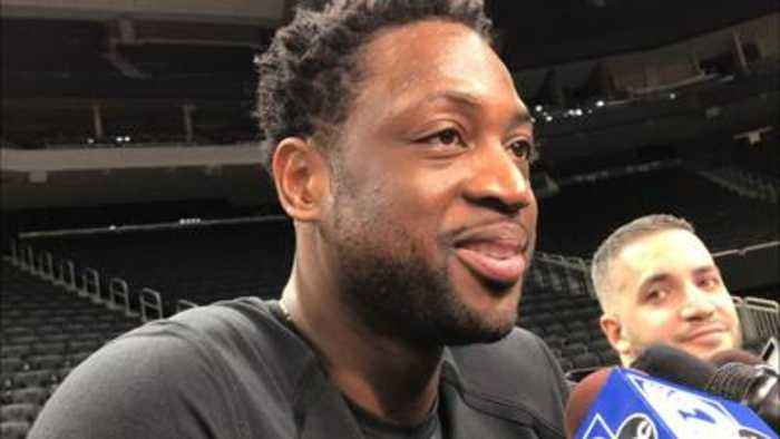 Dwyane Wade on playing in Milwaukee, where he played college ball at Marquette
