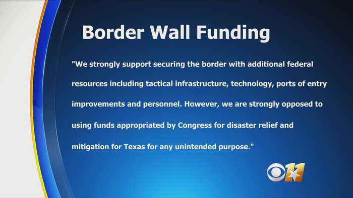 Cornyn, Cruz, Abbott, Texas GOP Urges President Trump Not To Use Harvey Recovery Funds On Border Wall