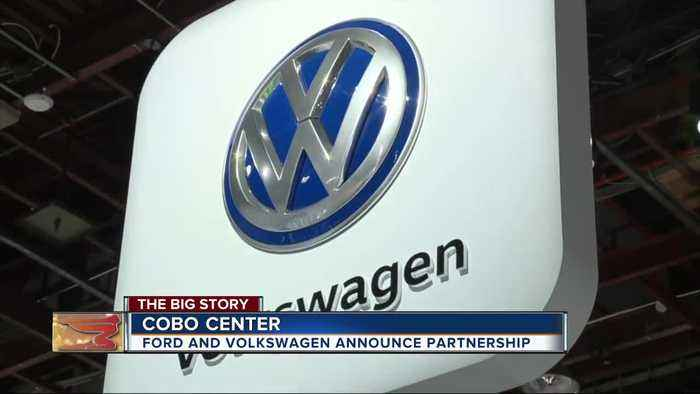 Ford, Volkswagen to form global alliance that will develop vans, pickups