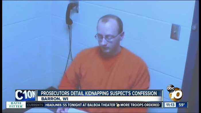 Prosecutors detail kidnapping suspect's confession