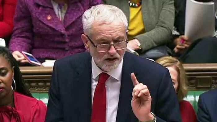 Jibes fly between May and Corbyn as Brexit dominates PMQs
