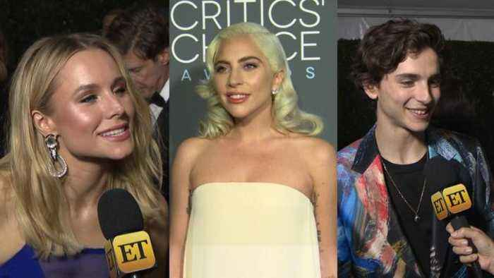 Question Train: Celebs at 2019 Critics Choice Awards 'Interview' Each Other on the Red Carpet!