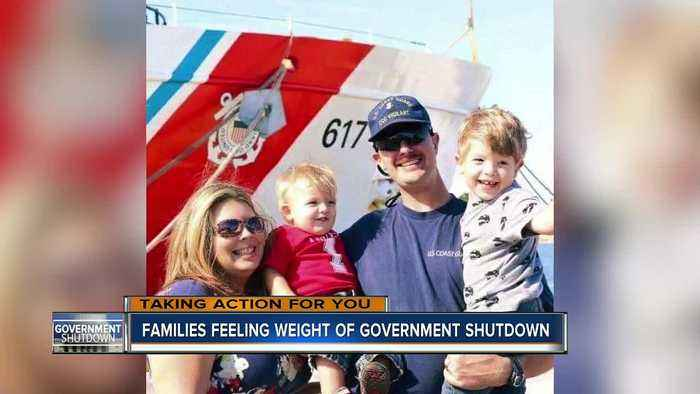Local family impacted by government shutdown struggles to find companies to work with them on bills