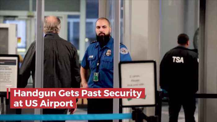 How Did A Handgun Get On A Plane To Tokyo With A Passenger