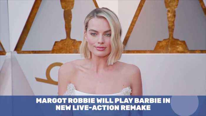 Margot Robbie Is Going From Queen To Barbie