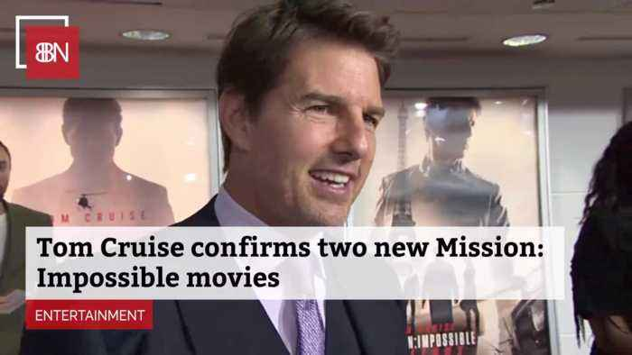 Tom Cruise: Two New Mission Impossible Movies Are On The Way