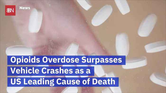 More People Die From Opioids Than Car Crashes