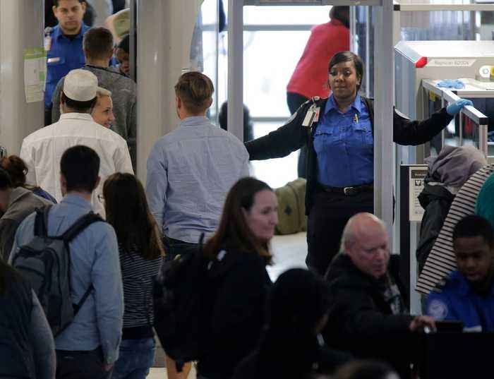 Airlines Forced To Consolidate Resources As TSA Officers Call Out Sick Amid Shutdown
