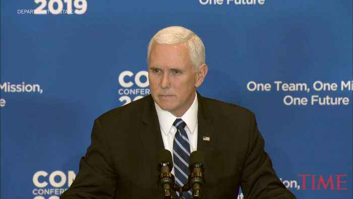 Mike Pence Says ISIS 'Caliphate Has Crumbled' in Speech After U.S. Troops Killed in Syria Attack