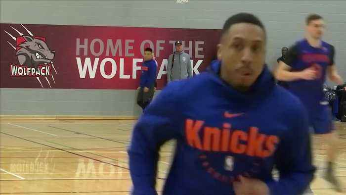 KNICKS PREPARE FOR LONDON MATCH WITHOUT KANTER