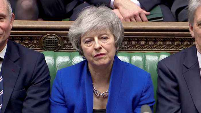 Prime Minister Theresa May Wins Confidence Vote In Parliament