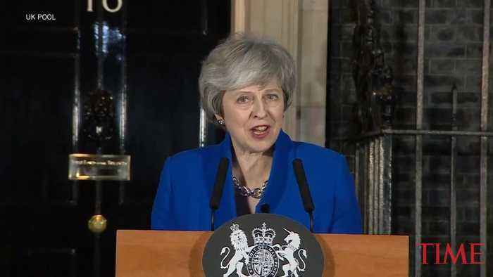 Theresa May Speaks After Surviving No Confidence Vote