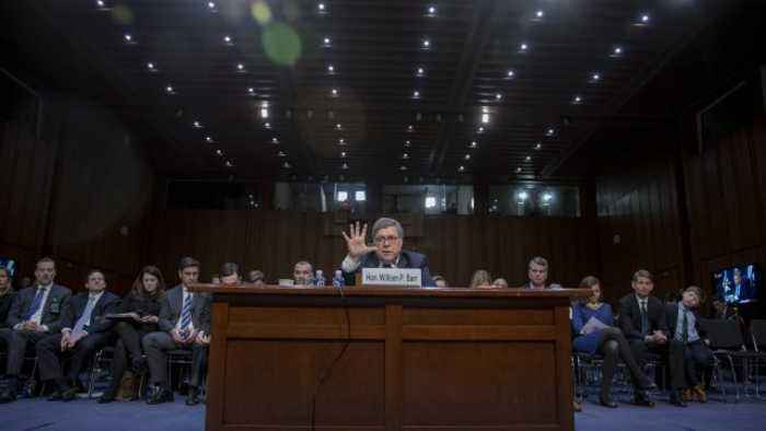 Barr May Not Publicly Release Mueller Report