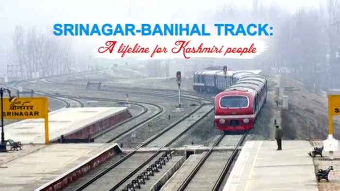 Srinagar Banihal Track : A Lifeline for Kashmiri People, WATCH VIDEO | Oneindia News