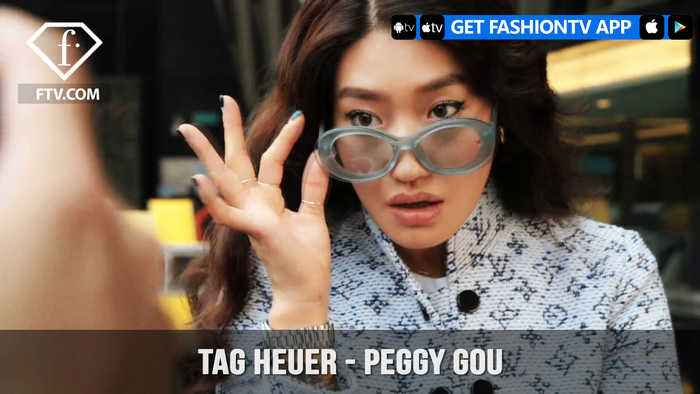 Peggy Gou for TAG Heuer as she DJ's with Watches | FashionTV | FTV