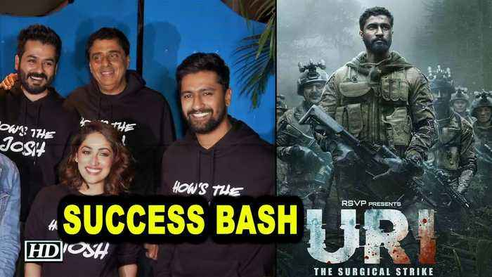 'Uri: The Surgical Strike' SUCCESS BASH with cast