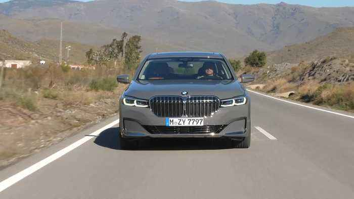 The new BMW 7 Series Driving Video