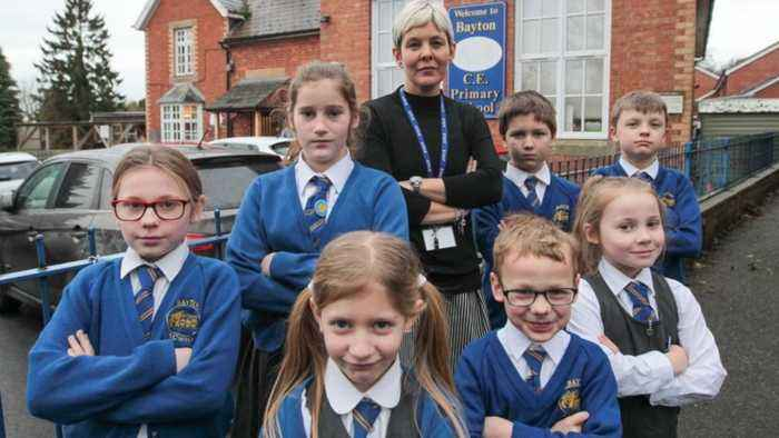 School can't afford to replace broken equipment because of budget squeeze�