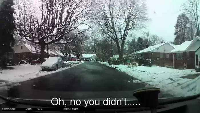 Drive-By Snowball Fight