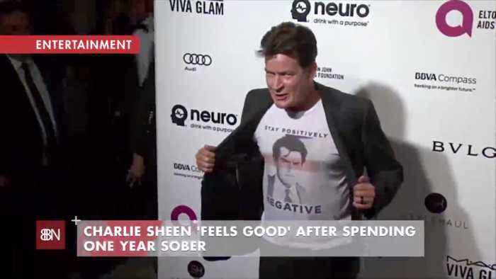 Charlie Sheen Celebrates His One Year Sober Anniversary