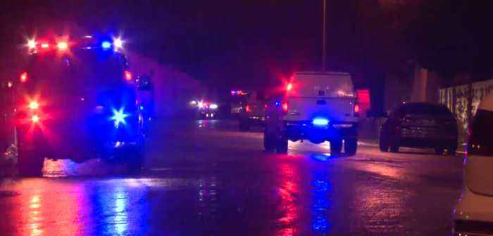 Narcotic investigators called to house fire in west Las Vegas