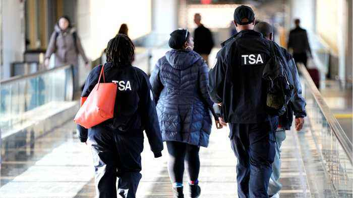 Airports Are Dealing With Massive Lines During The Government Shutdown As TSA Employees Are Working Without Pay