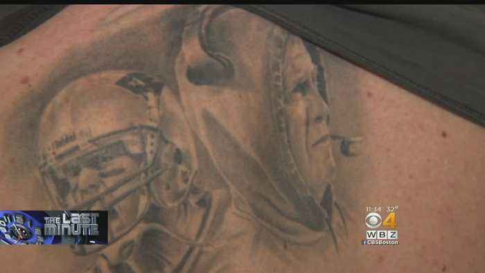 The Last Minute: Patriots Fan Marks New England's Success With Brady, Belichick Tattoos