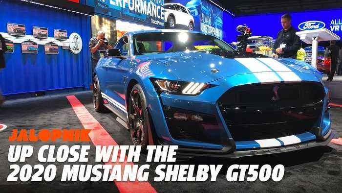 Up Close With The 2020 Mustang Shelby GT500 | Jalopnik