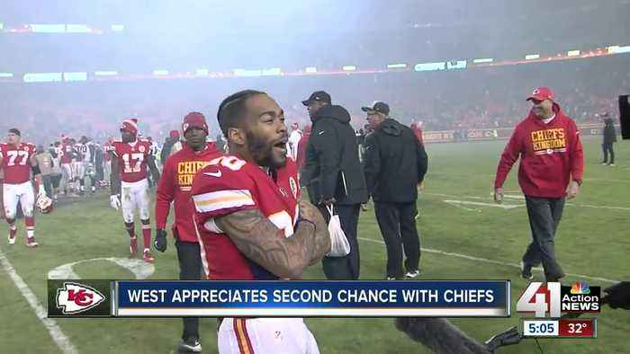 Charcandrick West grateful to be back for Chiefs playoff run