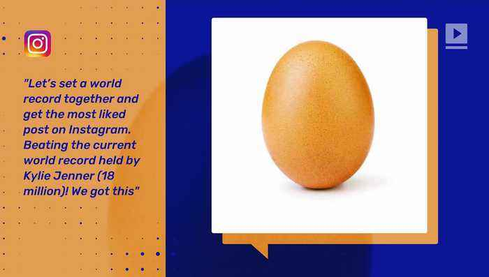 This Photo of an Egg Is Instagram's Most-Liked Post Ever